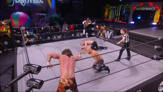 MFTM: Kenny Omega and Jon Moxley Face Off in a 6 Man Tag Match 2/3/21