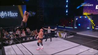 Chris Jericho is on fire