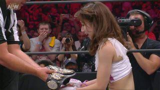 Riho wins the AEW Women's World Championship