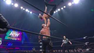 Darby Allin catches crazy air to crush The Chairman Shawn Spears